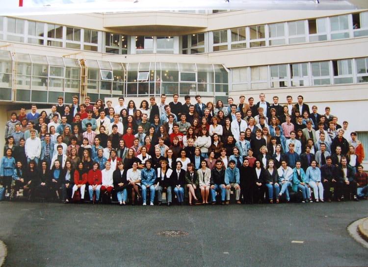 Photo de classe esc tours promo96 1ere annee de 1993 - Ecole superieure de cuisine ...