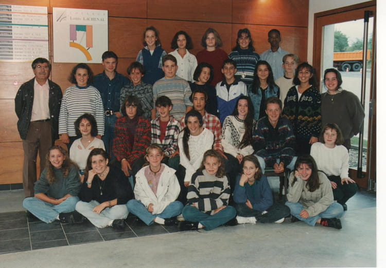 Photo de classe 3 me d de 1994 coll ge louis lachenal for Pronote college jean moulin salon