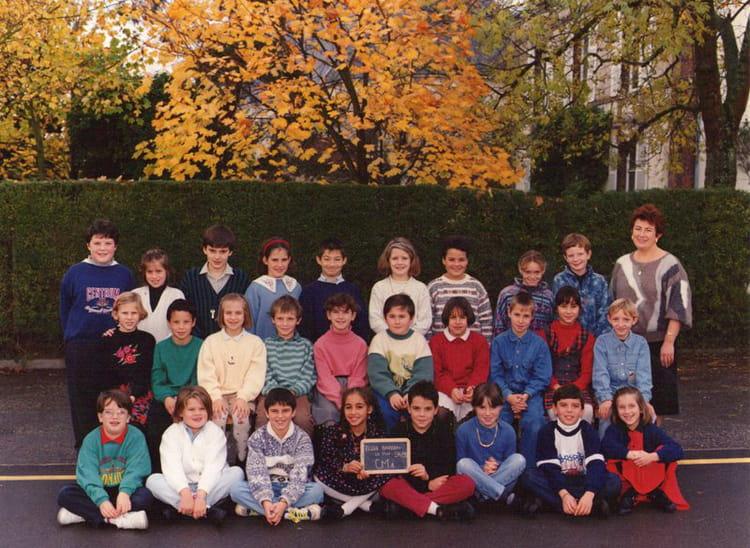 Photo de classe cm1 avec mme brissard de 1994 ecole for Garage bailleau le pin