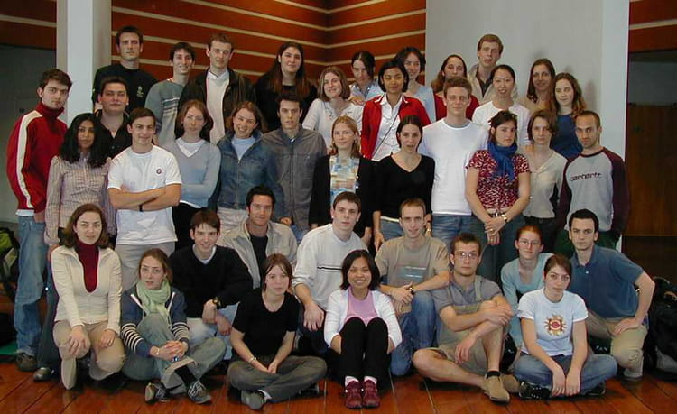 Photo de classe groupe 5 audencia promo 2005 2006 de 2002 - Ecole superieure de cuisine ...