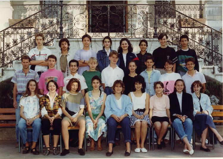 Photo de classe 3ème 7 année 1988/1989 de 1989, Collège Saint ...