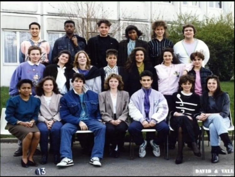 Cote De Villebon photo de classe bep vente de 1987, les côte de villebon - copains d