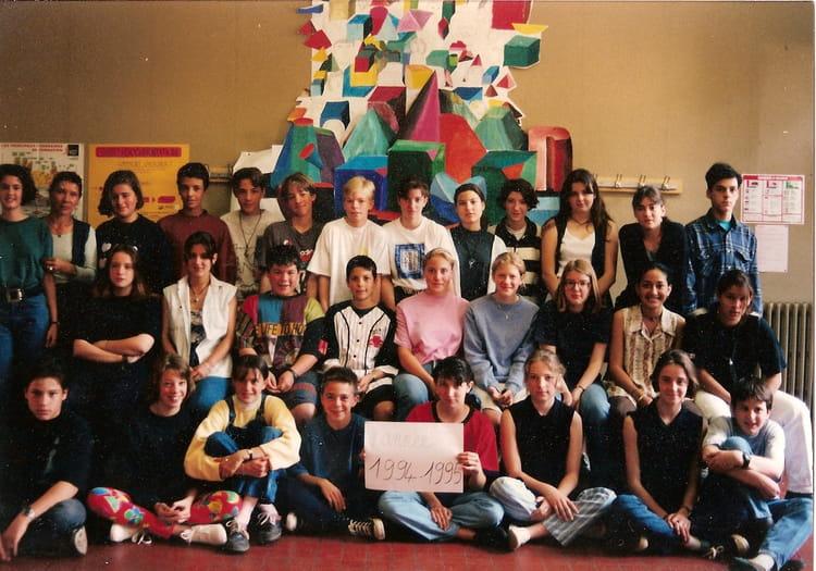 photo de classe college les chalets toulouse de 1994 coll 232 ge les chalets copains d avant
