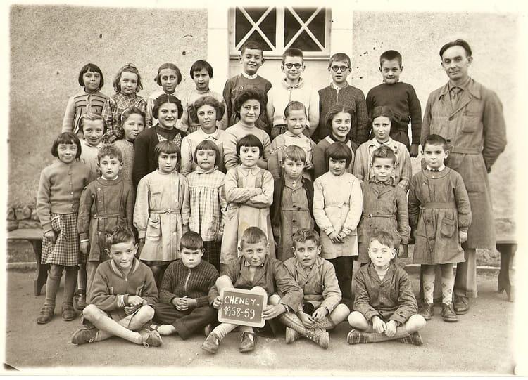 Photo de classe mr camelin de 1958 ecole de geneve - Ecole de cuisine geneve ...