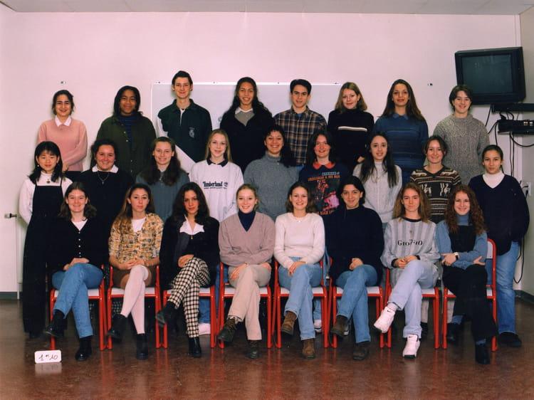 photo de classe classe de 1 re 10 de 1997 lyc e albert einstein copains d 39 avant. Black Bedroom Furniture Sets. Home Design Ideas