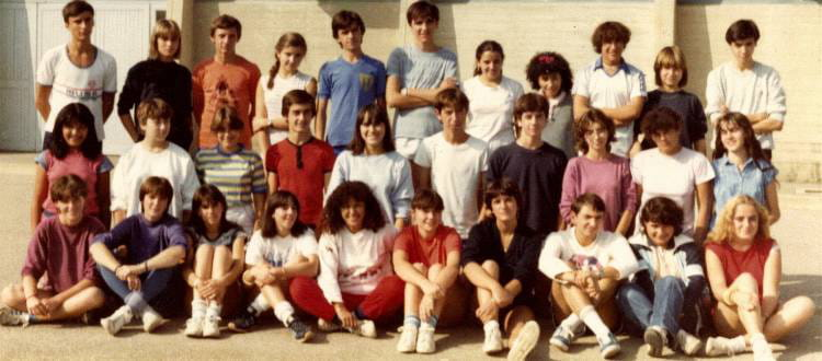 Photo de classe seconde ies de 1983 lyc e professionnel - Lycee craponne salon ...