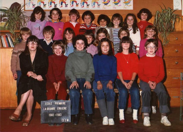 Photo de classe cm1 de 1983 ecole primaire la grande - La grande verriere jardin d acclimatation ...