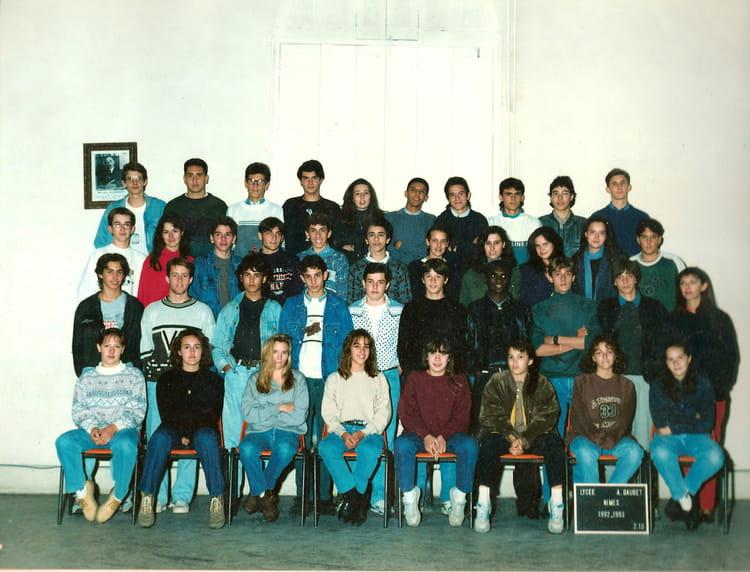 Photo de classe 2 nde 14 de 1992 lyc e alphonse daudet for Lycee alphonse daudet