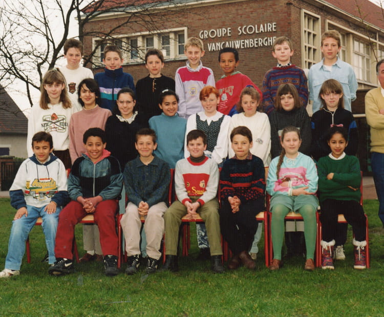 photo de classe cm2 de 1991 ecole vancauwenberghe saint pol sur mer copains d 39 avant. Black Bedroom Furniture Sets. Home Design Ideas