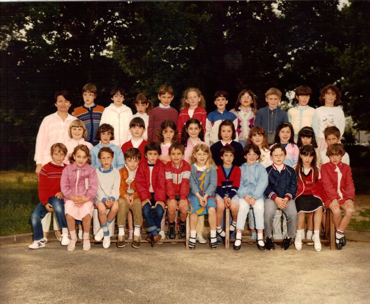 photo de classe ce1 de 1985 ecole sainte therese les jaulnieres la roche sur yon copains. Black Bedroom Furniture Sets. Home Design Ideas