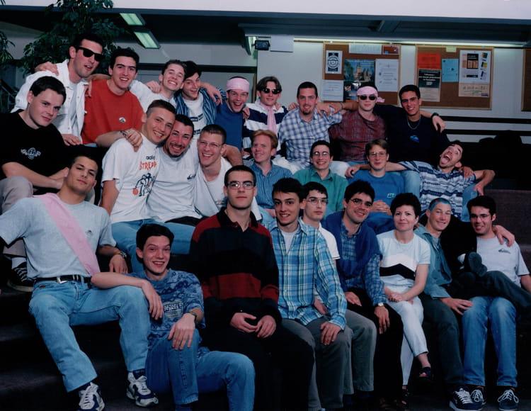 photo de classe 1997 1998 de 1998 lyc 233 e fran 231 ois d assise copains d avant