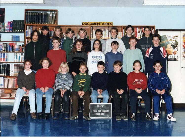 de classe 5c de 1996, Collège Du Bois Dorceau  Copains davant ~ College Bois D Orceau