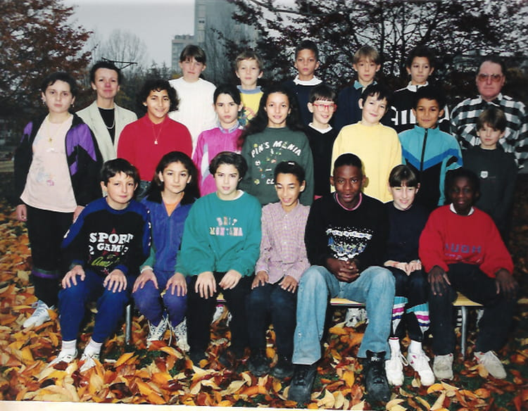 photo de classe cm2 de 1993 ecole almont melun copains d 39 avant. Black Bedroom Furniture Sets. Home Design Ideas