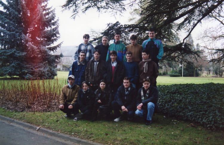 Photo de classe bep jev de 1996 lyc e priv de l for Horticulture et paysage