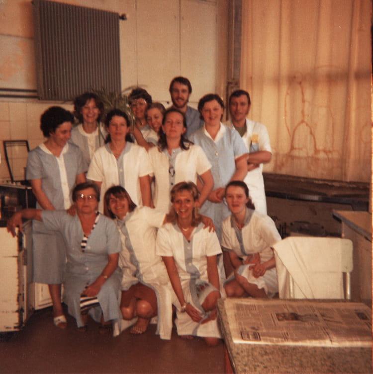 Chru Lille Huriez photo de classe traumatologie huriez de 1982, chru lille - copains d