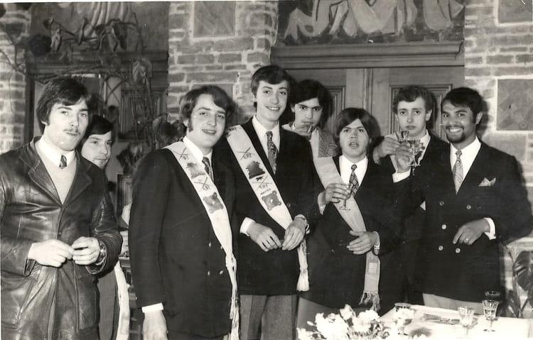 photo de classe compagnons du devoir  u00e0 nantes1972 de 1972  compagnon du devoir et du tour de