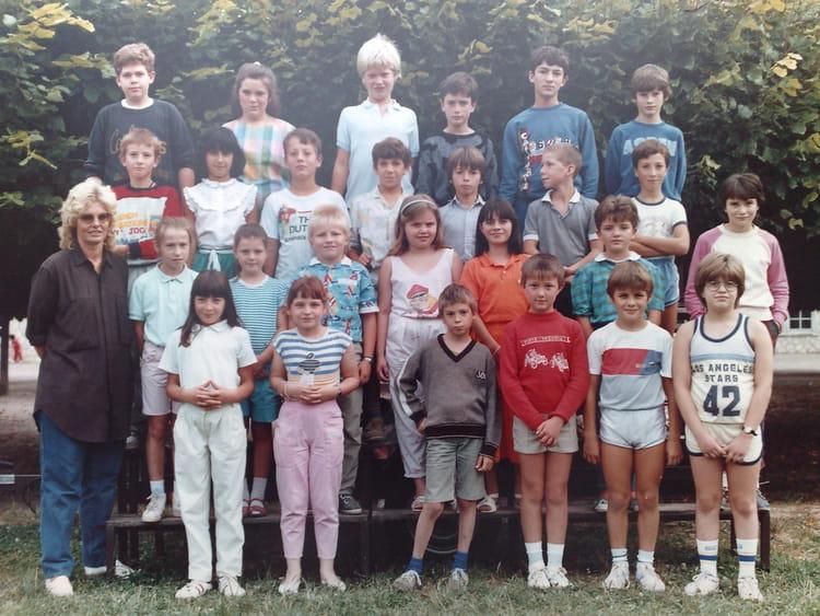 Photo de classe cm2 1987 1988 ecole primaire de pont sur - Cours de cuisine yonne ...