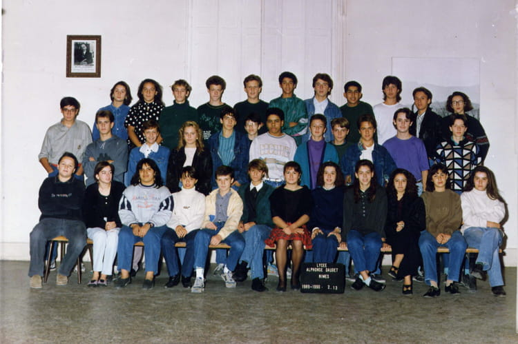 Photo de classe 2de13 de 1989 lyc e alphonse daudet for Lycee alphonse daudet