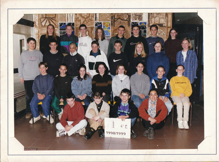Photo de classe 1998 1999 coll ge jean moulin nogent for Pronote college jean moulin salon
