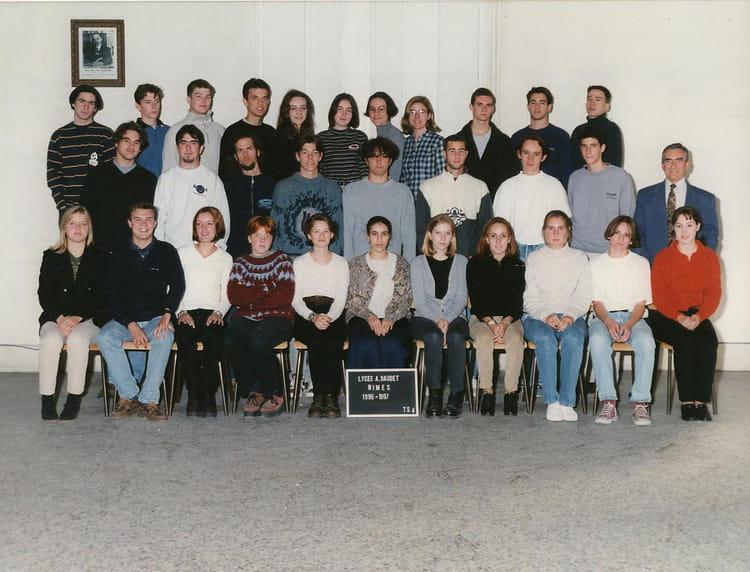 Photo de classe tle s4 de 1996 lyc e alphonse daudet for Lycee alphonse daudet