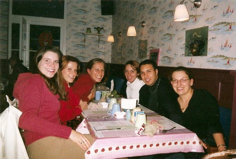 Photo de classe ma trise de psychologie de 2002 for Diner entre copains