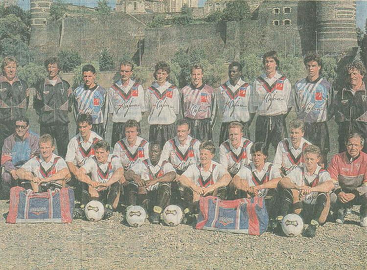 Coloriage Foot Sco Angers.Photo De Classe Angers Sco Le Millesime 91 92 De 1991 Sco Angers