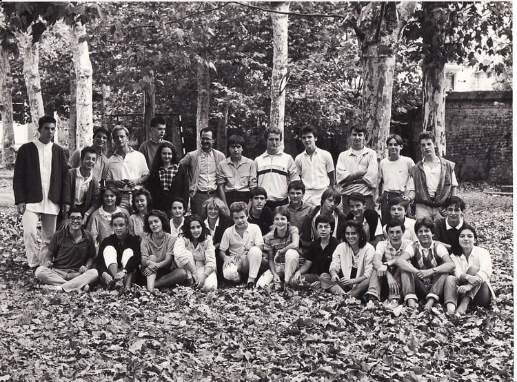 photo de classe seconde ii 85 86 de 1986 lyc e priv le