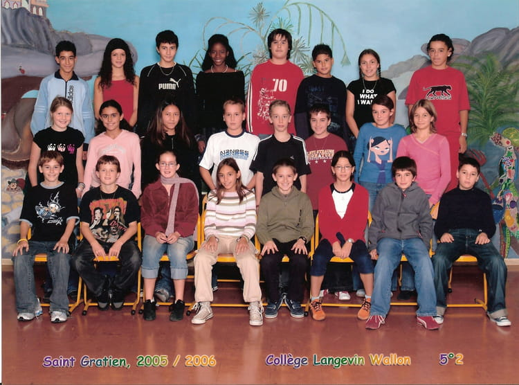 Photo de classe 5 me2 de 2005 coll ge langevin wallon for Garage bien etre auto saint gratien