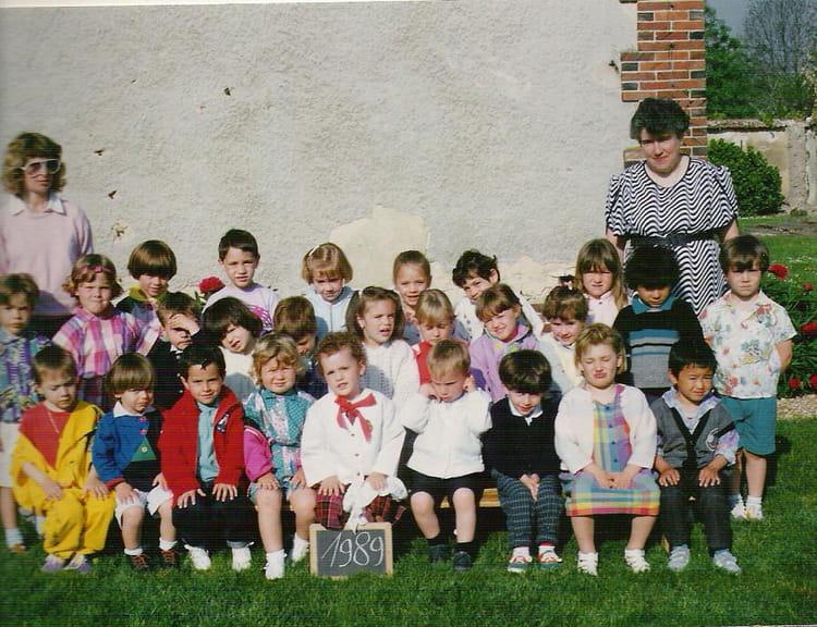 photo de classe maternelle 1989 nogent le phaye de 1989 ecole nogent le phaye nogent le. Black Bedroom Furniture Sets. Home Design Ideas