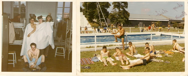 Photo de classe classe 70 04 juillet 1970 paris de 1970 for Piscine kremlin bicetre