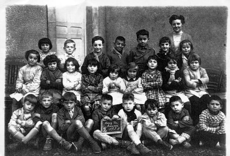 Photo de classe Rosoy Sur Amance Ecole primaire de 1957 ...