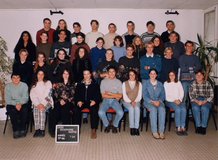 photo de classe 1 re chimie de 1997 lyc e nicephore niepce copains d 39 avant. Black Bedroom Furniture Sets. Home Design Ideas