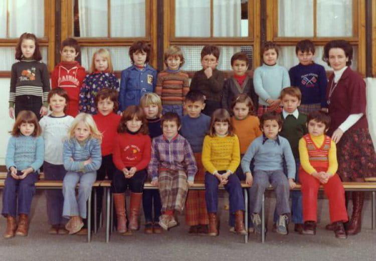 photo de classe classe cp de 1975 ecole michelet cazouls les beziers copains d 39 avant. Black Bedroom Furniture Sets. Home Design Ideas