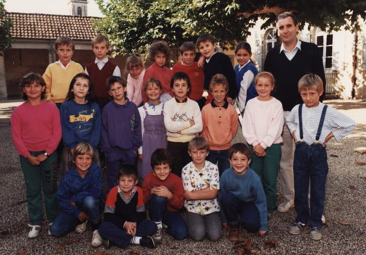 photo de classe ce1 de 1988 ecole jules grevy mont sous vaudrey copains d avant