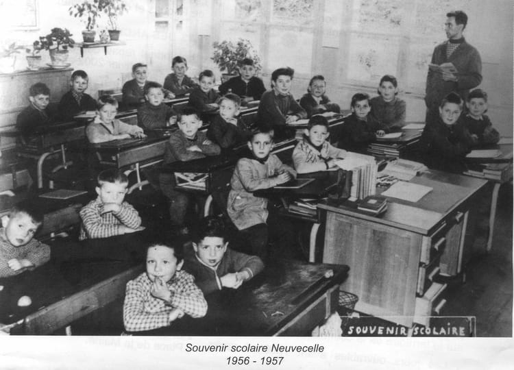 photo de classe ecole primaire neuvecelle 74 de 1957 ancienne ecole mairie copains d 39 avant. Black Bedroom Furniture Sets. Home Design Ideas