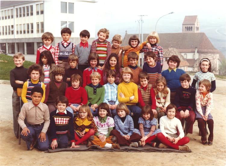 Photo De Classe Cp Ou Ce1 Soultzmatt De 1975 Ecole Primaire De