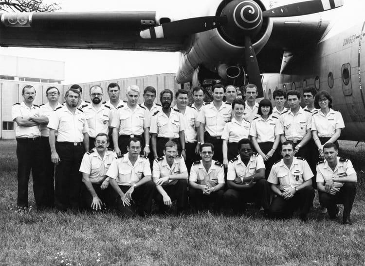 photo de classe cadre de maitrise juillet 1987 de 1987 armee de l air copains d avant