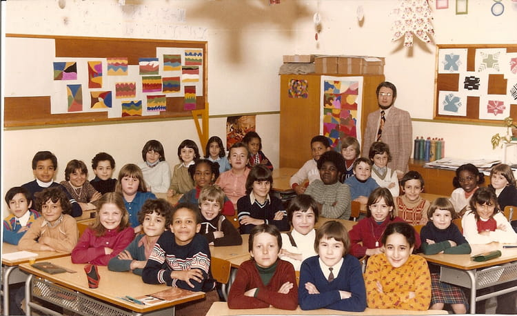 photo de classe ecole primaire de 1977 ecole paul langevin copains d 39 avant. Black Bedroom Furniture Sets. Home Design Ideas