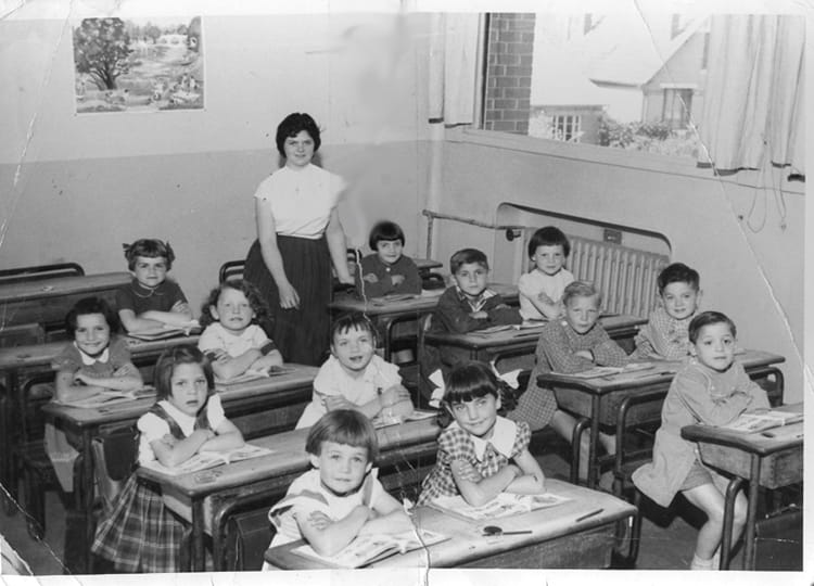 photo de classe cp de 1958 ecole ferdinand buisson sainte genevieve des bois copains d 39 avant. Black Bedroom Furniture Sets. Home Design Ideas