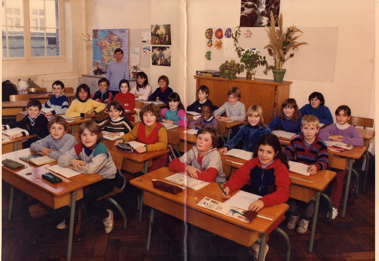 photo de classe cm1 cm2 de 1983 ecole jean moulin gisors copains d 39 avant. Black Bedroom Furniture Sets. Home Design Ideas