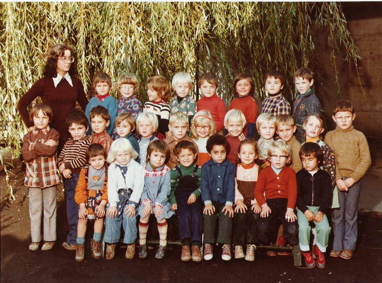 photo de classe 2nd maternelle de 1976 ecole vaillant couturier saultain copains d 39 avant. Black Bedroom Furniture Sets. Home Design Ideas