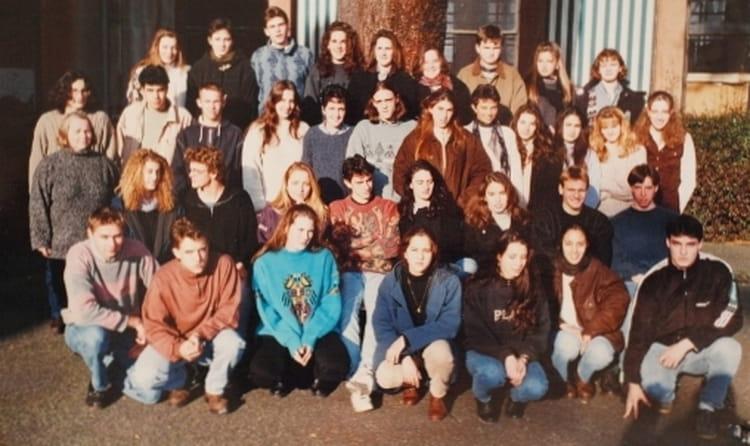 photo de classe terminale es de 1996 lyc 233 e portes de l oisans copains d avant