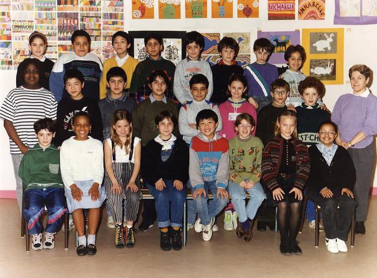 Photo de classe ce2 de 1989 ecole de garcons de la rue for Rue des garcons