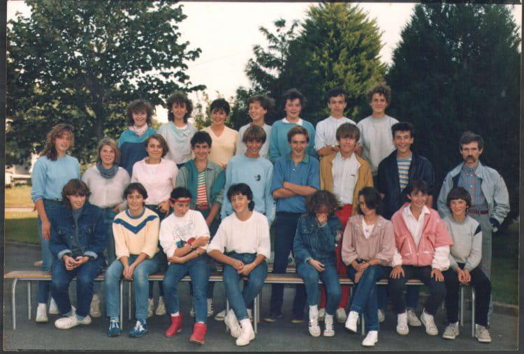 Photo de classe 3 me 1984 coll ge charles de gaulle - College charles de gaulle guilherand granges ...