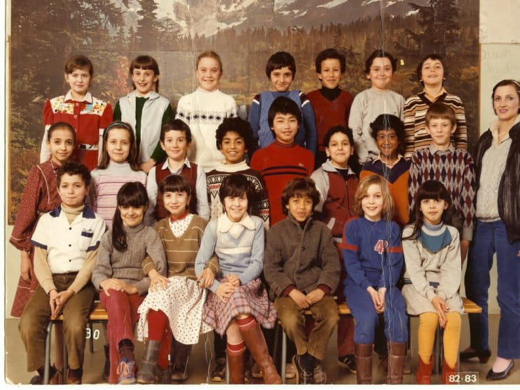 photo de classe cm1 de 1982 ecole jean jaures la chapelle saint luc copains d 39 avant. Black Bedroom Furniture Sets. Home Design Ideas