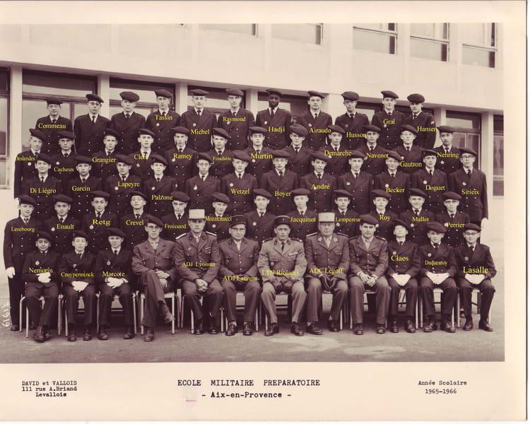 Photo De Classe Emp Aix En Provence 3 176 1965 66 De 1965