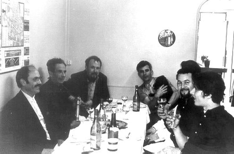 Photo de classe d jeuner entre coll gues de 1968 la for Dejeuner entre collegues