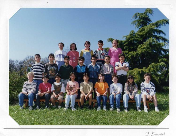 photo de classe cm2 de 1994 ecole maurice petitcolin dremil lafage copains d 39 avant. Black Bedroom Furniture Sets. Home Design Ideas