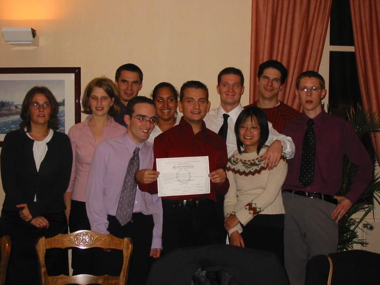 Photo de classe repas remise des diplomes 2004 de 2004 - Ecole superieure de cuisine ...