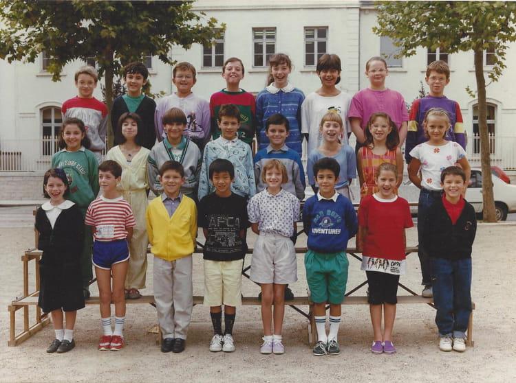 Photo de classe cm1 de 1989 ecole jean monnet - Cours de cuisine villefranche sur saone ...
